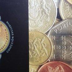 Reproducciones billetes y monedas: 40 MONEDAS. COLECCIÓN COMPLETA MONEDAS DE EUROPA.. Lote 153864442
