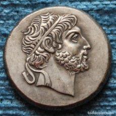 Reproducciones billetes y monedas: REPRODUCCION DE TETRADRACMA DE FILIPO V DE MACEDONIA, PELLA 220-179 A.C.. Lote 154401314