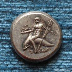 Reproducciones billetes y monedas: REPRODUCCION DE UN NOMOS DE TARENTO, 272-240 A.C.. Lote 155311610