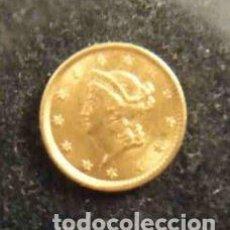 Reproducciones billetes y monedas: 1$-DOLLAR 1852 LIBERTY HEAD . Lote 155356866