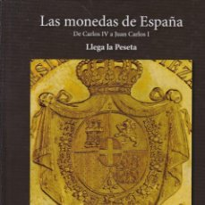 Reproducciones billetes y monedas: LAS MONEDAS DE ESPAÑA DE CARLOS IV A JUAN CARLOS I (20 MONEDAS CON BAÑO DE PLATA Y ORO). Lote 155823450