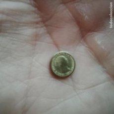 Reproducciones billetes y monedas: 20 REALES DE 1850. ISABEL II. REPRODUCCIÓN EN MINIATURA. Lote 158693174