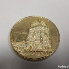 Reproducciones billetes y monedas: 419- MONEDA CONMEMORATIVA TORRE DE BELEN CEE PORTUGAL DESDE 1986 Nº 2. Lote 159613998