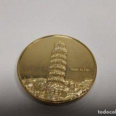 Reproducciones billetes y monedas: 419- MONEDA CONMEMORATIVA TORRE DE PISA ITALIA PAIS MIEMBRO CEE DESDE 1958 Nº 5. Lote 159616178