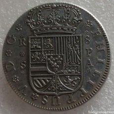 Reproducciones billetes y monedas: ESPAÑA-8 REALES DE 1733-FELIPE V. Lote 159681424