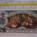 Reproducciones billetes y monedas: BILLETE EEUU CONMEMORATIVO. DÓLAR. BELÉN NACIMIENTO JESÚS, ÁNGELES. DÓLARES. PERFECTO.. Lote 160364502