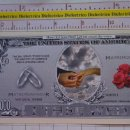 Reproducciones billetes y monedas: BILLETE EEUU CONMEMORATIVO. DÓLAR. BODA MATRIMONIO ALIANZAS. DÓLARES. PERFECTO.. Lote 160364574