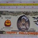 Reproducciones billetes y monedas: BILLETE EEUU CONMEMORATIVO. DÓLAR. HALLOWEEN TRUCO O TRATO. DÓLARES. PERFECTO.. Lote 160364814