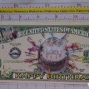 Reproducciones billetes y monedas: BILLETE EEUU CONMEMORATIVO. DÓLAR. FELIZ CUMPLEAÑOS TARTA. DÓLARES. PERFECTO.. Lote 160364850