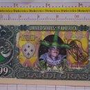 Reproducciones billetes y monedas: BILLETE EEUU CONMEMORATIVO. DÓLAR. MARDI GRAS CARNAVAL. DÓLARES. PERFECTO.. Lote 160364970