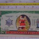 Reproducciones billetes y monedas: BILLETE EEUU CONMEMORATIVO. DÓLAR. NAVIDADES SANTA CLAUS PAPA NOEL. DÓLARES. PERFECTO.. Lote 160365202