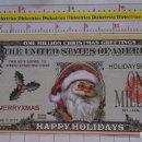 Reproducciones billetes y monedas: BILLETE EEUU CONMEMORATIVO. DÓLAR. NAVIDADES SANTA CLAUS PAPA NOEL. DÓLARES. PERFECTO.. Lote 160365398
