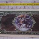 Reproducciones billetes y monedas: BILLETE EEUU CONMEMORATIVO. DÓLAR. MADRE TIERRA PLANETA. DÓLARES. PERFECTO.. Lote 160365594