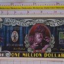Reproducciones billetes y monedas: BILLETE EEUU CONMEMORATIVO. DÓLAR. EL HOMBRE LOBO. DÓLARES. PERFECTO.. Lote 160365690