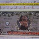 Reproducciones billetes y monedas: BILLETE EEUU CONMEMORATIVO. DÓLAR. EL FANTASMA DE LA ÓPERA. DÓLARES. PERFECTO.. Lote 160365794