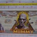 Reproducciones billetes y monedas: BILLETE EEUU CONMEMORATIVO. DÓLAR. LA MOMIA ANTIGUO EGIPTO. DÓLARES. PERFECTO.. Lote 160365830