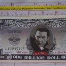 Reproducciones billetes y monedas: BILLETE EEUU CONMEMORATIVO. DÓLAR. DRÁCULA TRANSILVANIA. DÓLARES. PERFECTO.. Lote 160365938