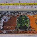 Reproducciones billetes y monedas: BILLETE EEUU CONMEMORATIVO. DÓLAR. MONSTRUO CRUSHER. DÓLARES. PERFECTO.. Lote 160366254