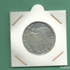 Reproducciones billetes y monedas: RÉPLICA DE LA FNMT. 8 REALES 1772. CARLOS III. MADRID. Lote 204728827
