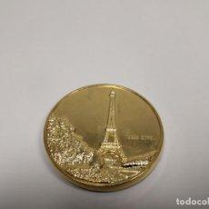 Reproducciones billetes y monedas: 419- MONEDA CONMEMORATIVA TORRE EIFFEL FRANCIA CEE DESDE 1958 Nº 12 . Lote 160783654