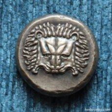 Reproducciones billetes y monedas: REPRODUCCION DE TETRADRACMA JONIO DE SAMOS, 408-366 A.C.. Lote 161083850