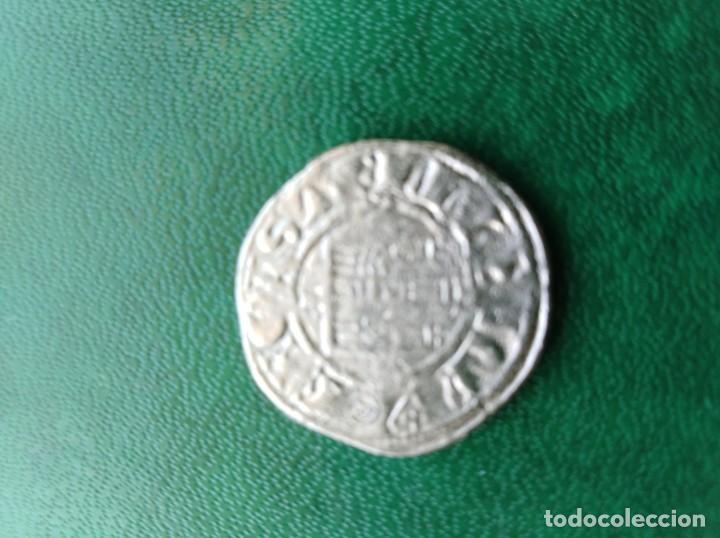 Reproducciones billetes y monedas: Moneda medieval a identificar España replica - Foto 2 - 161550042