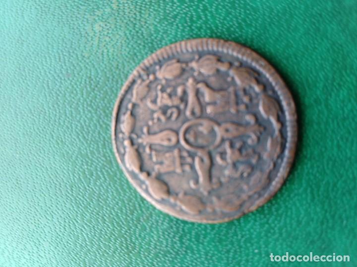 Reproducciones billetes y monedas: Moneda Fernando VII 1819 España replica - Foto 2 - 161550634
