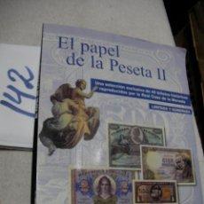 Reproducciones billetes y monedas: ALBUM DE BILLETES - EL PAPEL DE LA PESETA. Lote 162032774