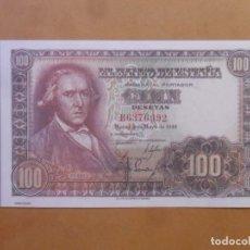 Reproducciones billetes y monedas: BILLETE FACSIMIL ESPAÑA - 100 - CIEN PESETAS - 2 DE MAYO DE 1948. Lote 163340930