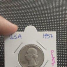 Reproducciones billetes y monedas: MONEDA DOLLAR PLATA. Lote 164706646