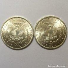 Reproducciones billetes y monedas: DOLAR USA DE DOS CARAS IGUALES CON EL AGUILA. Lote 166677470
