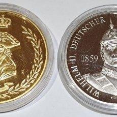 Reproductions billets et monnaies: LOTE DE 2 MEDALLAS VARIOS PAISES Y AÑOS - LOTE Nº 4 2016. Lote 168076272