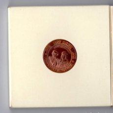 Reproducciones billetes y monedas: MONEDA CONMEMORATIVA 1992 AUSTRIA - ESPAÑA. Lote 170244100