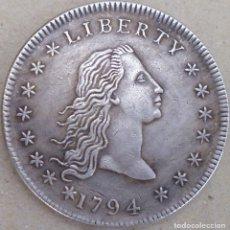 Reproducciones billetes y monedas: MONEDA DE 1794. Lote 172495150