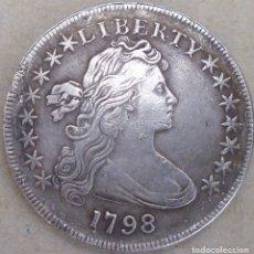 Reproducciones billetes y monedas: MONEDA DE 1798. Lote 172496275