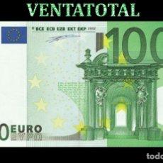 Reproducciones billetes y monedas: BILLETE TRAINER DE 100 EUROS BILLETE PARA COLECCIONARLO JUGAR O ENSEÑANZA USADO EN PELICULAS- Nº3. Lote 210528960