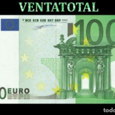 Reproducciones billetes y monedas: BILLETE TRAINER DE 100 EUROS BILLETE PARA COLECCIONARLO JUGAR O ENSEÑANZA USADO EN PELICULAS - Nº12. Lote 181348016