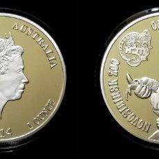 Reproducciones billetes y monedas: AUSTRALIA ORANGUTAN 2014. Lote 174010358