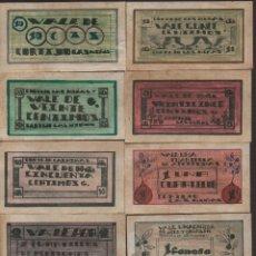 Reproducciones billetes y monedas: CORDOBA. 10 VALES--SERIE COMPLETA- CORTIJO LAS NIÑAS,-PRIVADO- VER FOTOS. Lote 174013317