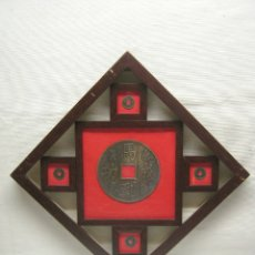 Reproducciones billetes y monedas: SHANGHAI VALUE ART.CO.- VITRINA DE MONEDAS CHINA IMPERIAL. Lote 174038873