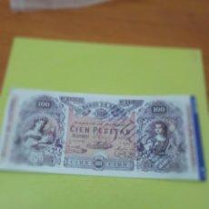 Reproducciones billetes y monedas: HISTORIA DE LA PESETA FACSIMIL CIEN PESETAS. Nº 7. C8CR. Lote 174067532
