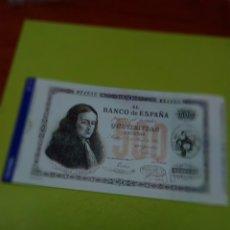 Reproducciones billetes y monedas: HISTORIA DE LA PESETA FACSIMIL. 500 PESETAS. Nº 13. C8CR. Lote 174067967