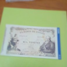 Reproducciones billetes y monedas: HISTORIA DE LA PESETA FACSIMIL. 1000 PESETAS. Nº 19. C8CR. Lote 174068362