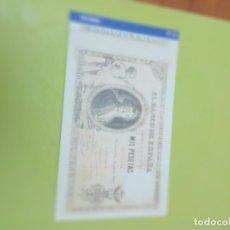 Reproducciones billetes y monedas: HISTORIA DE LA PESETA FACSIMIL. 1000 PESETAS. Nº 25. C8CR. Lote 174068824