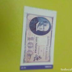 Reproducciones billetes y monedas: HISTORIA DE LA PESETA FACSIMIL. 100 PESETAS. Nº 27. C8CR. Lote 174069032