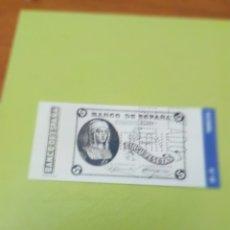 Reproducciones billetes y monedas: HISTORIA DE LA PESETA FACSIMIL. 5 PESETAS. Nº 28. C8CR. Lote 174069162