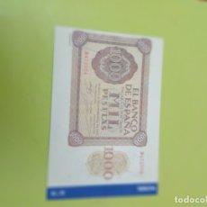 Reproducciones billetes y monedas: HISTORIA DE LA PESETA FACSIMIL. 1000 PESETAS. Nº 79. C8CR. Lote 174091367