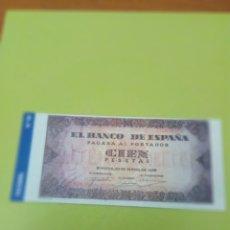 Reproducciones billetes y monedas: HISTORIA DE LA PESETA FACSIMIL. 100 PESETAS. Nº 82. C8CR. Lote 174091515