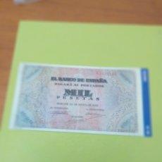 Reproducciones billetes y monedas: HISTORIA DE LA PESETA FACSIMIL. 1000 PESETAS. Nº 83. C8CR. Lote 174091587
