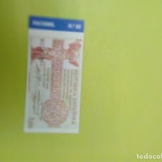 Reproducciones billetes y monedas: HISTORIA DE LA PESETA FACSIMIL. 1 PESETA. Nº 89 C8CR. Lote 174092014